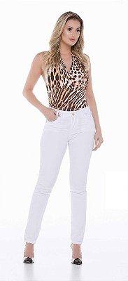 Calça Jeans Feminina Skinny Cós Médio Ref. 4789