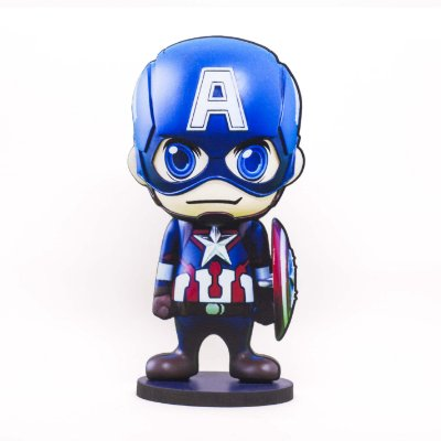 Boneco Mini Toten CAPITÃO AMERICA BABY Avengers