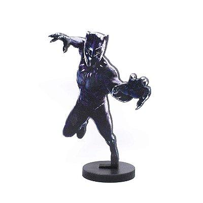 Boneco Mini Toten PANTERA NEGRA Avengers
