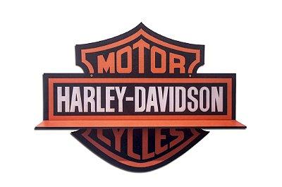 Quadro Prateleira HARLEY DAVIDSON Logo