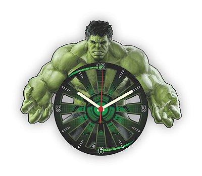 Relógio de Parede Avengers Hulk