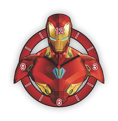 Relógio de Parede Avengers Homem de Ferro 1