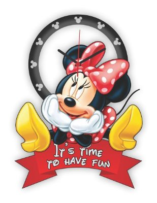 Relógio de Parede MINNIE IT'S TIME TO HAVE FUN