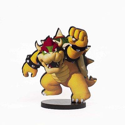 Boneco Mini Toten BOWSER - Mario Bros