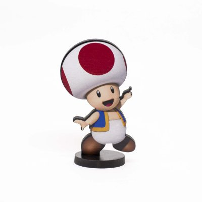 Boneco Mini Toten TOAD - Mario Bros