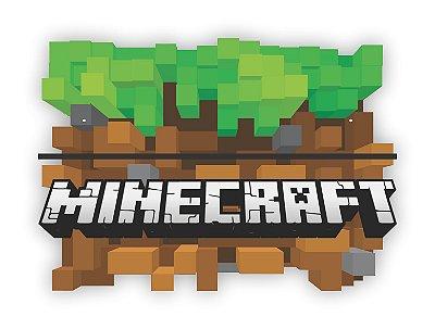 Quadro Prateleira Minecraft