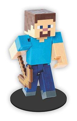 Boneco Mini Toten STEVE Minecraft
