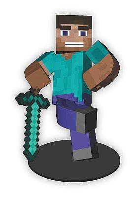 Boneco Mini Toten Minecraft 01