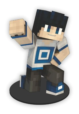 Boneco Mini Toten Minecraft 03