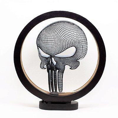 Luminária Acrílico Caveira Punisher