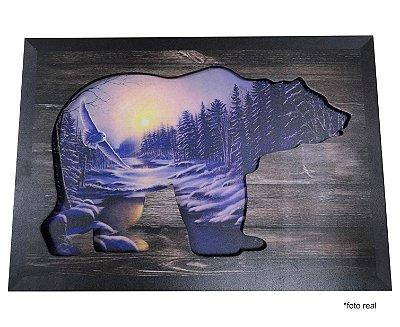Quadro 3D - Urso Polar