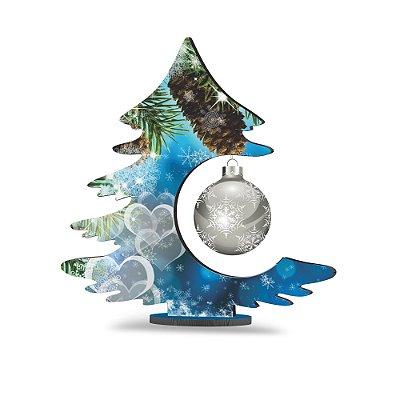 Árvore de Natal de Mesa - Corações