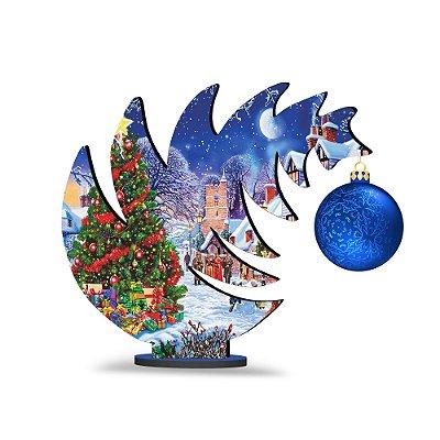 Árvore de Natal de Mesa Curvada - Presentes
