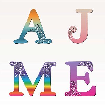 Letras Alfabeto para decoração