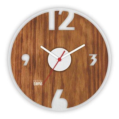 Relógio de Parede Wooden Clock 13