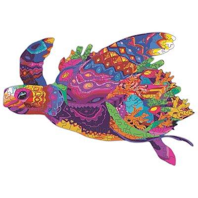 Quebra-cabeça Tartaruga da Paciência - 204 peças
