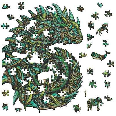 Quebra-cabeça O Camaleão da Adaptação - 263 peças