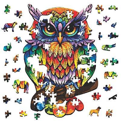 Quebra-cabeça A Coruja da Sabedoria - 261 peças