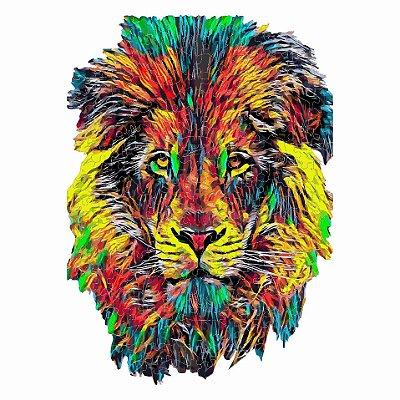 Quebra-cabeça O Leão da Liderança - 287 peças