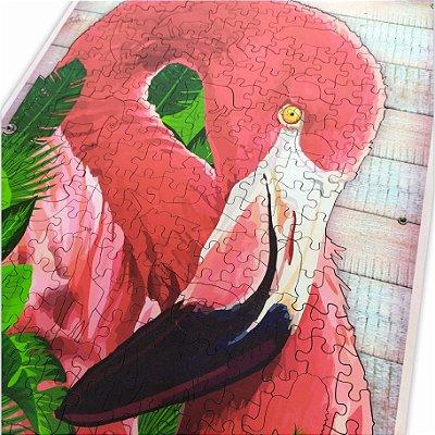 Quebra-cabeça Flamingo - Ascensão para a Luz - 318 peças