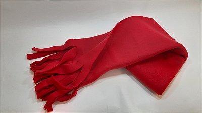 Cachecol liso vermelho VUH5X3VJV
