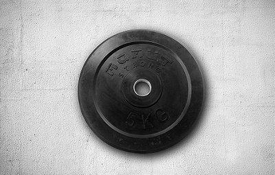 Anilha de Borracha 5kg - R$ 158,00