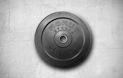 Anilha de Borracha 10kg - R$ 295,00