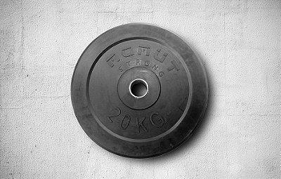 Anilha de Borracha 20kg - R$ 562,00