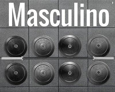 Kit Barra Masculina + 100kg de anilhas - R$ 4.150,00 | sac@mamutstrong.com.br