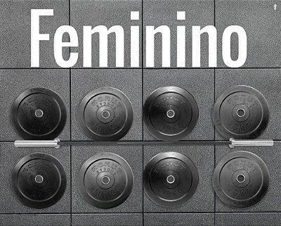 Kit Barra Feminina + 100kg de anilhas  - R$ 4.087,00  | sac@mamutstrong.com.br