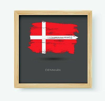 Quadro Decorativo Juvenil País Denmark