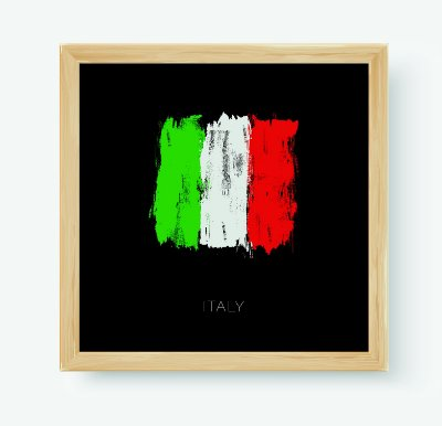 Quadro Decorativo Juvenil País Italy