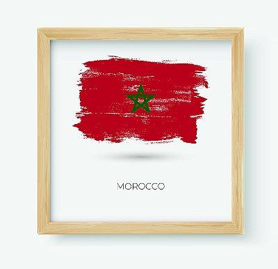 Quadro Decorativo Juvenil País Morocco