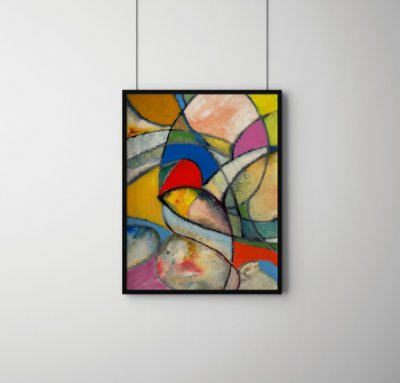 Quadro Decorativo Abstract Painting