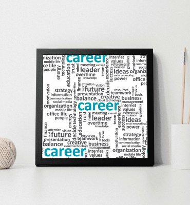 "Quadro decorativo ""Career"""