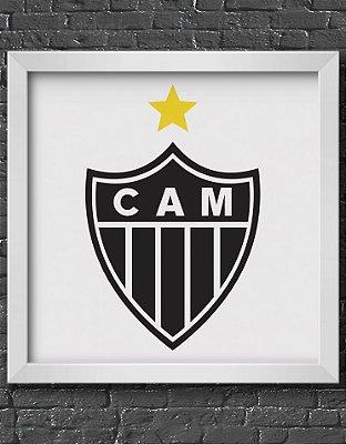 Quadro Decorativo Time: Clube Atlético Mineiro - CAM