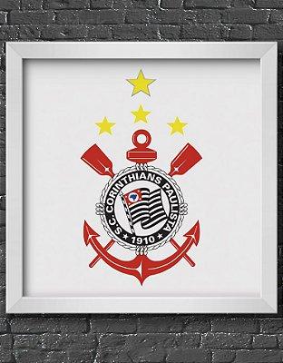 Quadro Decorativo Time: Corinthians - CP (Corinthians Paulista)