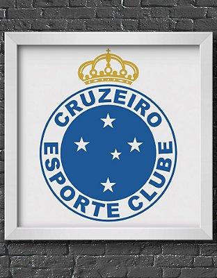 Quadro Decorativo Time: Cruzeiro Esporte Clube