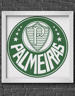 Quadro Decorativo Time: Sociedade Esportiva Palmeiras