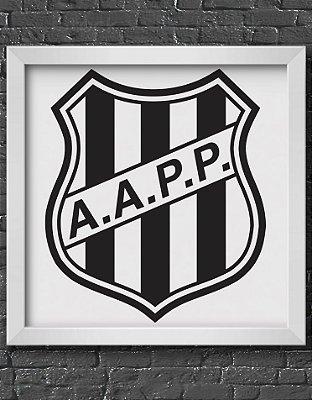 Quadro Decorativo Time: Ponte Preta - AAPP (Associação Atlética Ponte Preta)