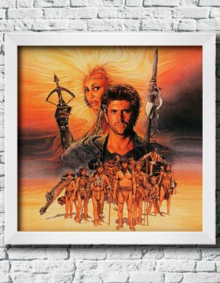 "Quadro Decorativo Filmes e Séries- Mad Max ""Beyond ThunderDome""."