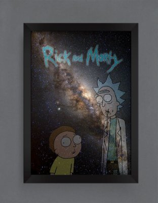 QUADRO DECORATIVO RICK E MORTY 6