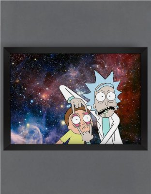 QUADRO DECORATIVO RICK E MORTY 13