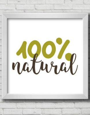 Quadro Decorativo 100% NATURAL