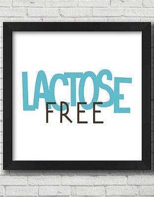 Quadro Decorativo LACTOSE FREE