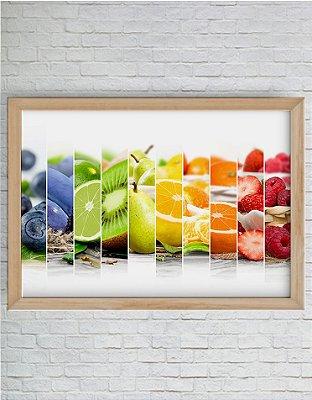 Quadro Decorativo Frutas