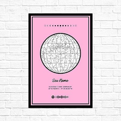 Mapa do Céu - Rosa