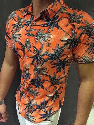 Camisa de botão Filho Rico Floral