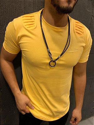 Camiseta Filho Rico - FRISADA AMARELA