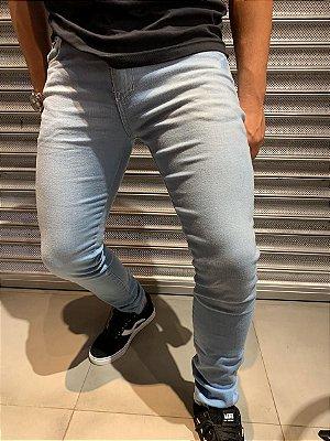 Calça Premium Filho Rico - Jeans Claro com detalhes oxidado